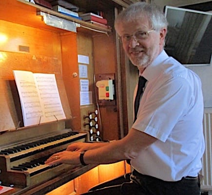 Keith Foley at the St.George's organ 2018
