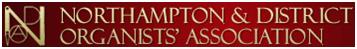 Northampton Organists Association logo