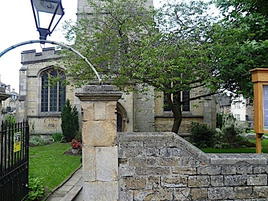 The entrance to St George's Stamford