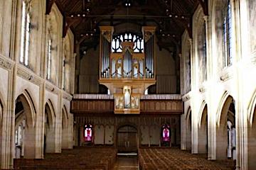 Frobenius organ at Oundle School Chapel